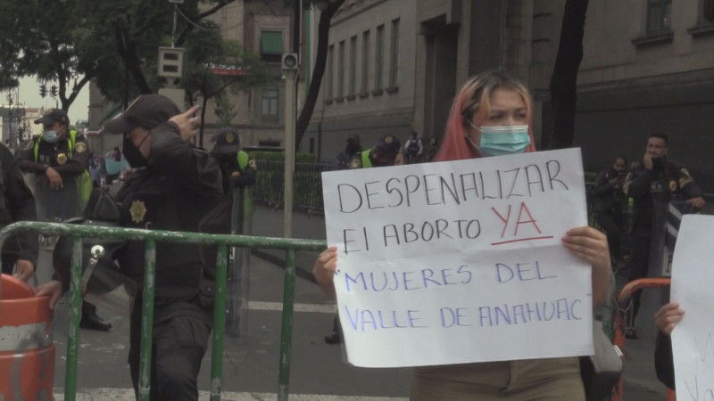 Despenalización del aborto en México  marca un referente: ISMUJERES
