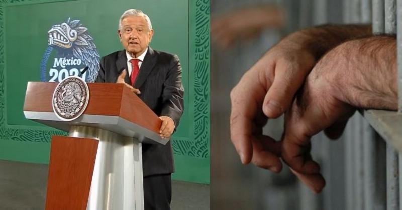López Obrador pide agilizar la liberación de reos torturados, sin sentencia, adultos mayores y enfermos graves