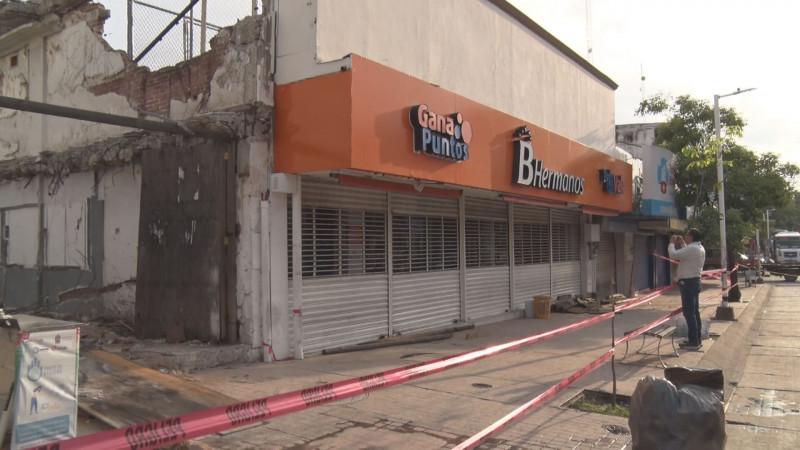 De luto el sector comercio, señala el presiente  de la unión de locatarios del centro de Culiacán