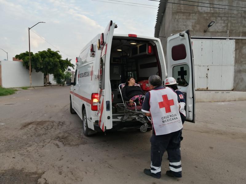 Una mujer herida tras accidente en La Costerita