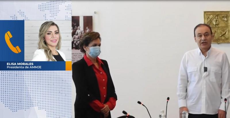AMMJE confía en las capacidades de María Dolores del Río como secretaria de Seguridad en Sonora
