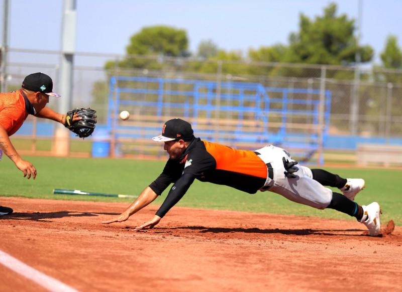 Naranjeros realiza segundo entrenamiento en Tucson