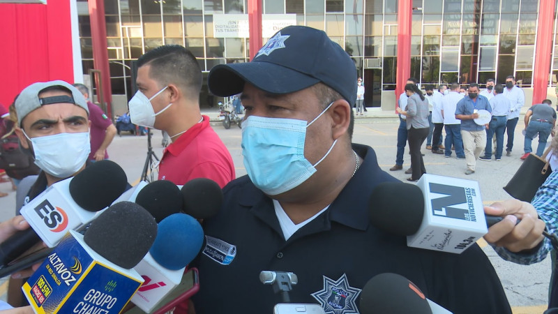 144 elementos de seguridad se despegarán en Ahome: Ponce