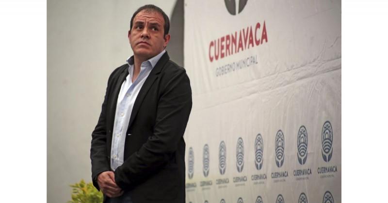 Denuncian a Cuauhtémoc Blanco ante la Fiscalía de Morelos por corrupción