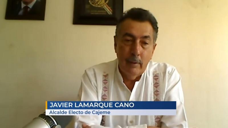 Anuncia Lamarque Cano propuestas para el  gabinete municipal 2021-2024