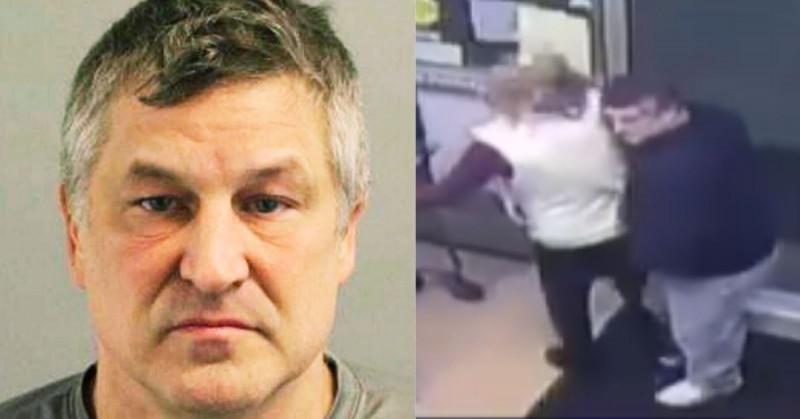 10 años de prisión a hombre que atacó a mujer con jeringa llena de su semen (video)