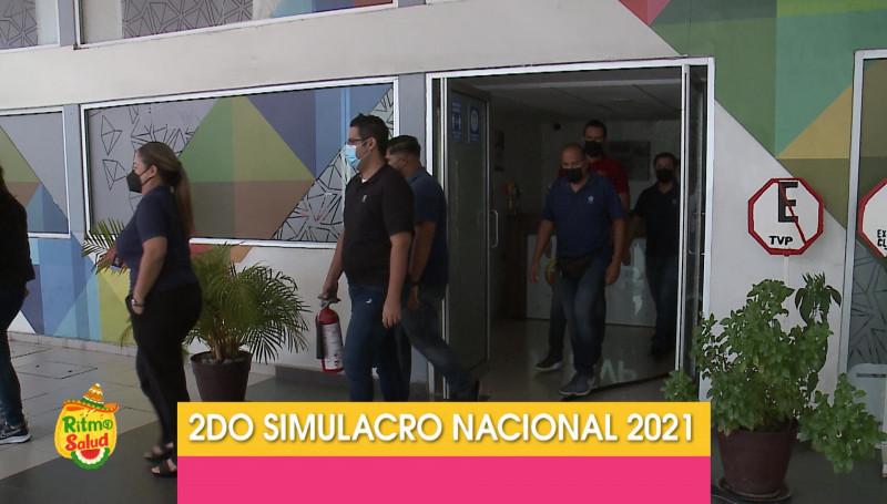 Grupo Alerta participa en Segundo Simulacro Nacional 2021
