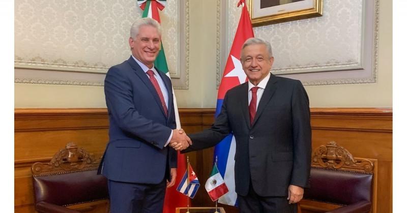 López Obrador pide a EEUU que desista del bloqueo comercial a Cuba