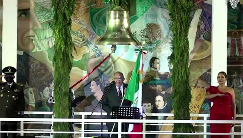 Celebran Independencia de México en Mazatlán