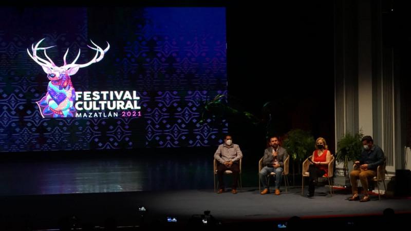 Del 1 de octubre al 17 de diciembre se llevará a cabo el Festival Cultural Mazatlán 2021