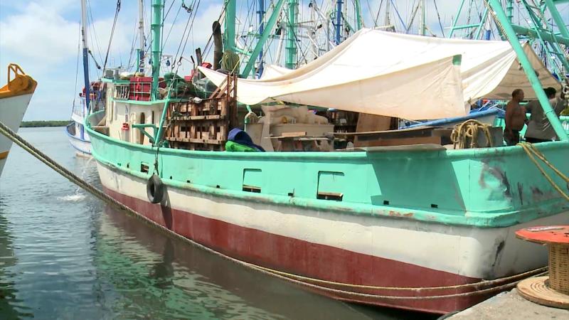 Salen barcos camaroneros vía lastre