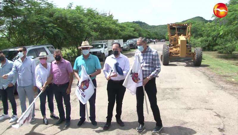 Gobierno de Sinaloa invertirá 32 millones de pesos en reconstrucción de carretera Rosario-Cacalotán