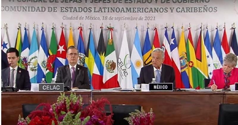 "López Obrador ve ""positiva"" la cumbre de la Celac pese a las confrontaciones entre países"