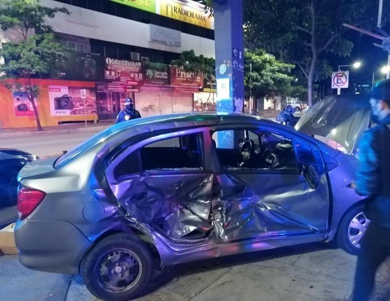 Accidente de tránsito deja lesionados y daños materiales