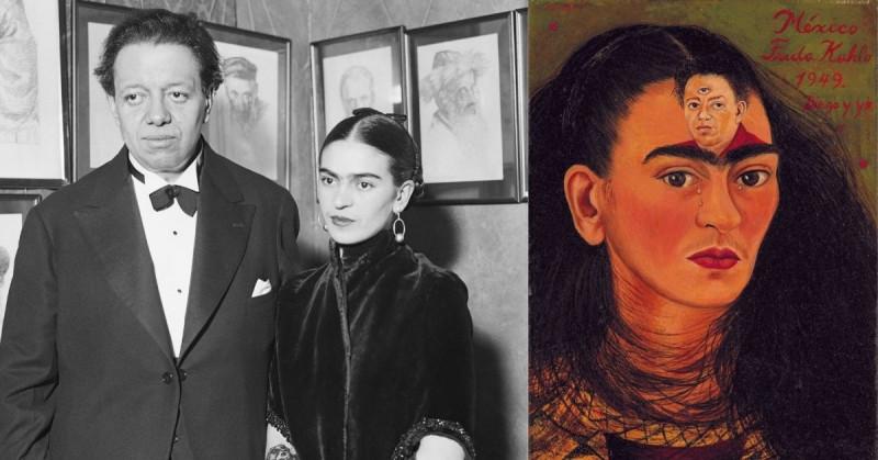 """Subastarán en NY cuadro de Frida Kahlo """"Diego y yo"""" valorado en 30 millones de dólares"""