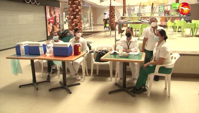 Vacunarán a niños de hasta 8 años en módulo ubicado en la Gran Plaza