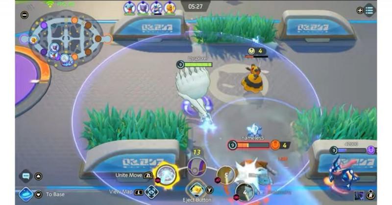 ¡De Nintendo Switch a Smarphone! Ya puedes jugar Pokémon Unite