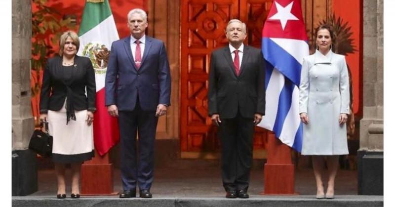 López Obrador descarta daños en relación con EEUU por dar apoyo a Cuba