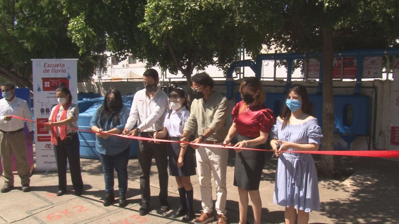 "Se suma Sinaloa al proyecto de ""escuela de lluvia"""