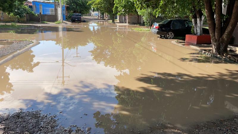 Fuertes lluvias en Culiacán