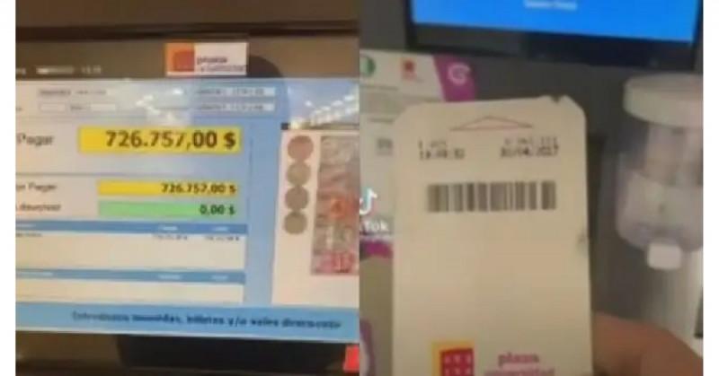 Revisa ticket de estacionamiento vencido de 2017 y debe 726 mil pesos (video)