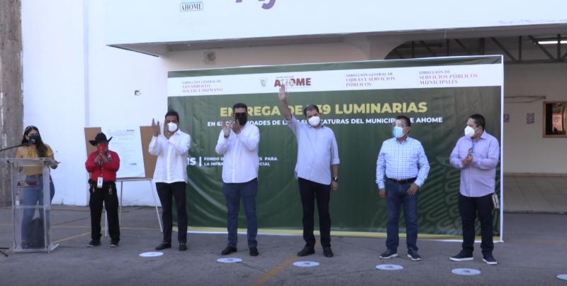 Instalará ayuntamiento de Ahome 739 nuevas luminarias