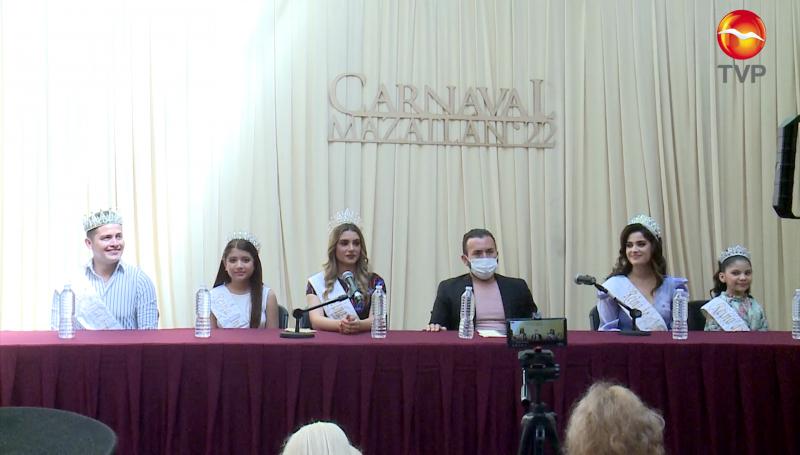 Lanzan convocatorias para participar en el Carnaval de Mazatlán 2022
