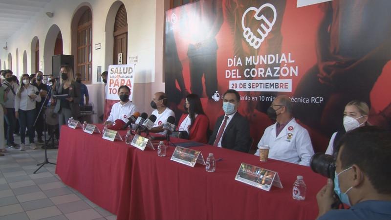 Celebra la UAS el día mundial del Corazón
