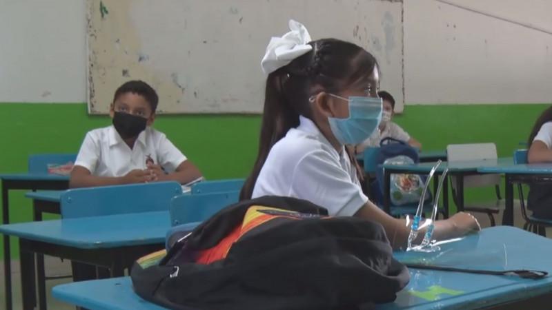 18 casos de Covid en Sinaloa tras este regreso a clases presenciales