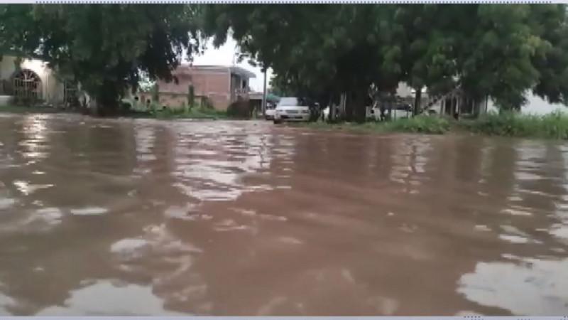 Acciones para evitar inundaciones obras de Rubén Rocha