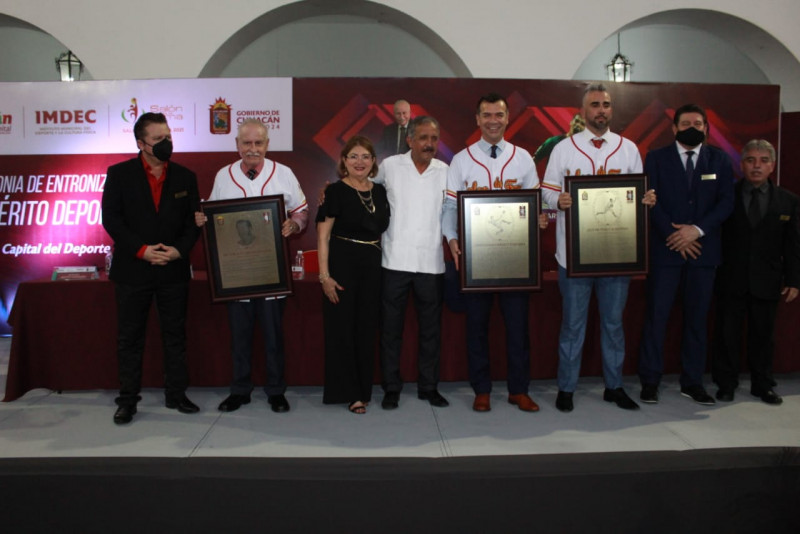 Jared Borgetti, Oliver Pérez y Don Héctor Avendaño ingresan al Salón de la Fama en Culiacán