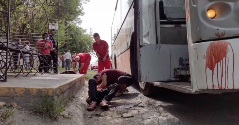 Pasajero se negó a usar cubrebocas y el camionero le apuñaló con un cuchillo