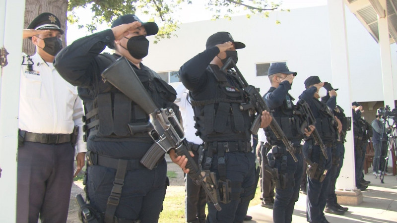 La SSPyTM reconoce a 29 elementos policiacos