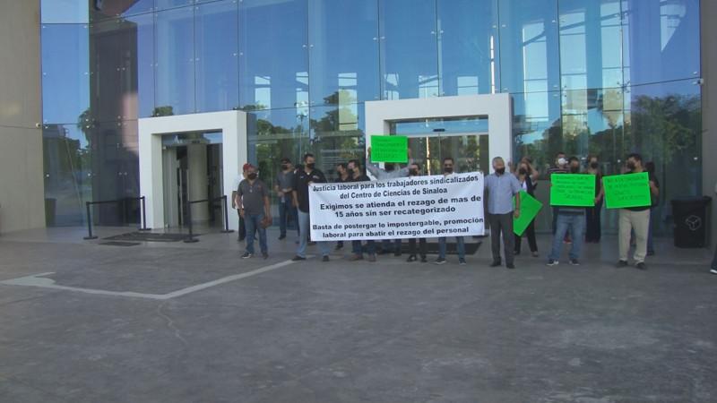 Asegura el STASE respuesta positiva a demandas de trabajadores en el Centro de Ciencias
