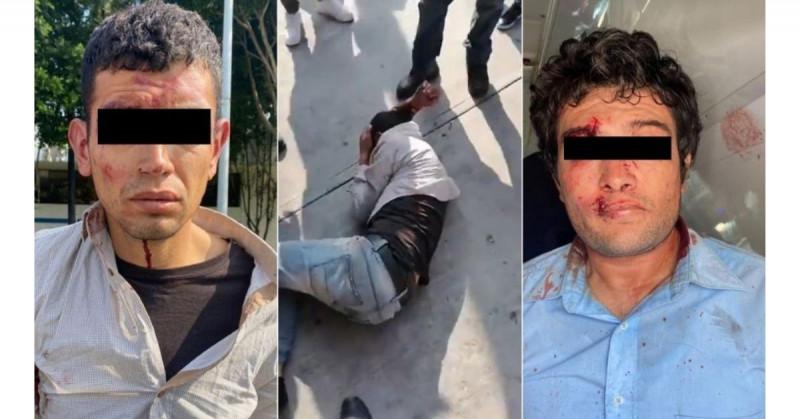 Linchan a dos hombres que trataron de secuestrar a mujer en taxi de la CDMX (video)
