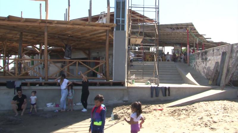 Confusión por construcción de restaurante en Punta Cerritos.