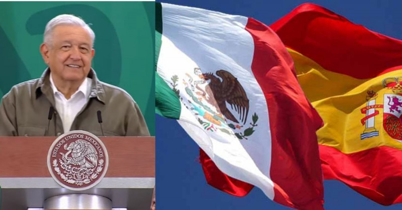 López Obrador insiste en que España debería pedir perdón por la conquista