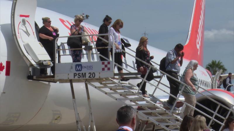 Primer vuelo de Canadá llega a Mazatlán este sábado