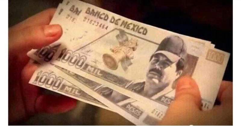 "Circulan billetes falsos del ""Mayo"" zambada en Culiacán"