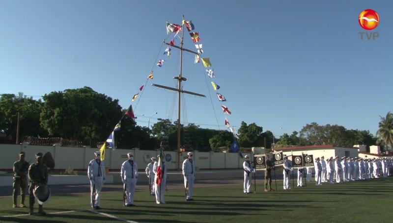 Celebran el 200 aniversario de la Marina Armada de México