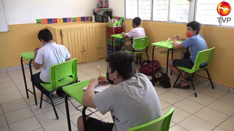 Regresan a clases presenciales solo 23 escuelas de nivel básico en la región
