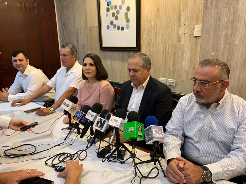 Se reúne Gerardo Vargas con ex candidatos a la alcaldía de Ahome