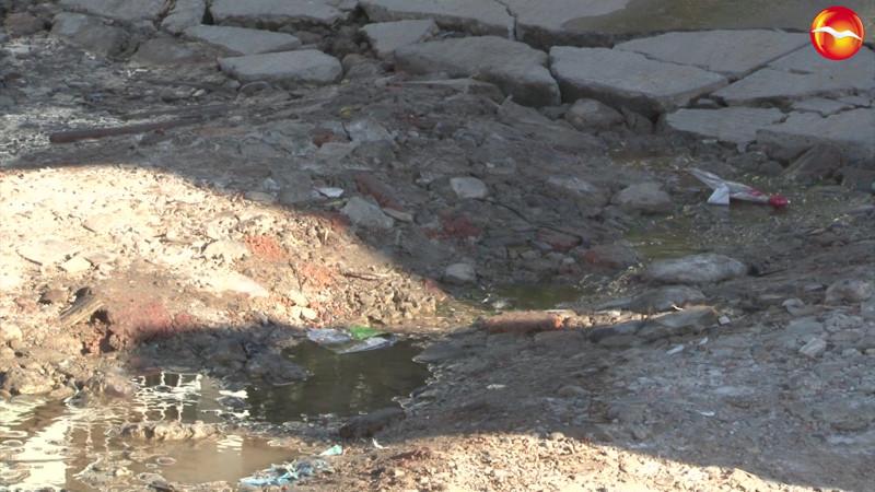 Proliferan en la colonia Ricardo Flores Magón las fugas de aguas, los vecinos ya están cansados.