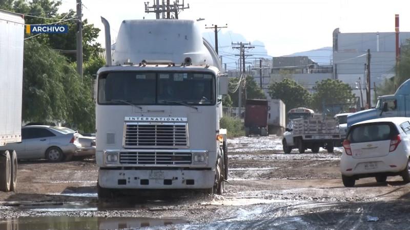 Se reactiva el transporte de carga del Valle del Yaqui