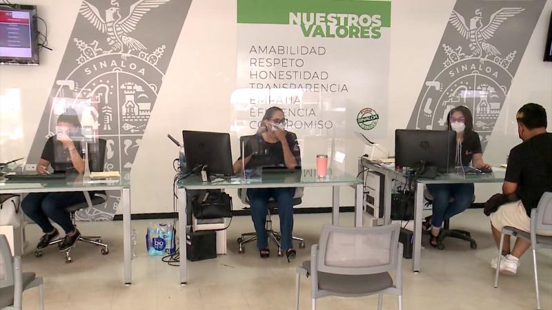 30% más de recaudación en la zona sur de Sinaloa