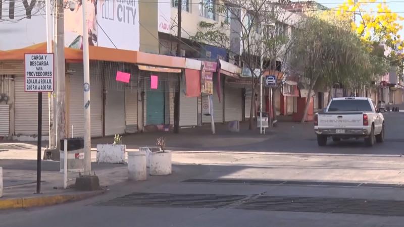 """Cerca de 4 mil negocios en Culiacán no """"la libraron"""" en la pandemia"""