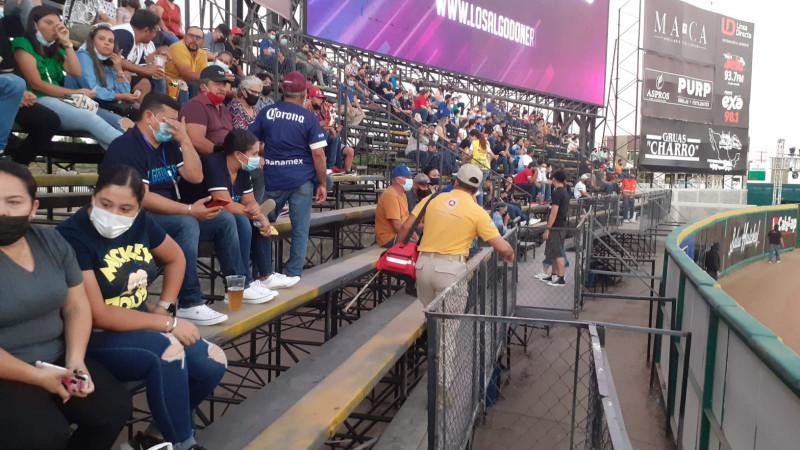 Protección civil refuerza medidas sanitarias en estadios de beisbol