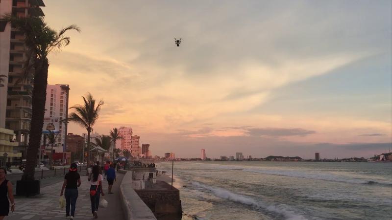 Drones del ejército vigilarán Mazatlán