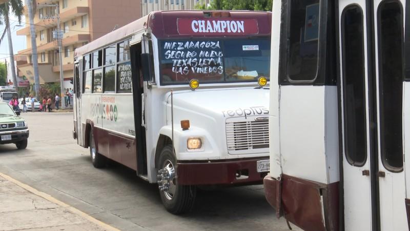 Regreso a clases no ha significado beneficio para el transporte público  ATUSUM