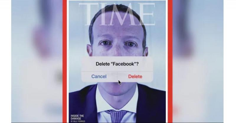 Revista Time sugiere borrar Facebook tras filtración de documentos